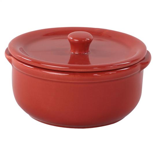 molheira em cerâmica hand food vermelho full fit