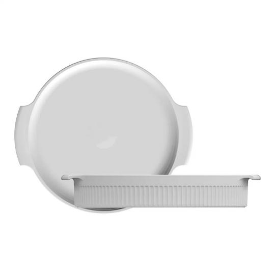 forma redonda branca 25cm germer