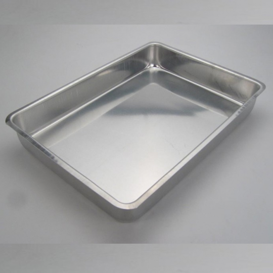 assadeira alta n3 36x25x5cm alumínio doupan