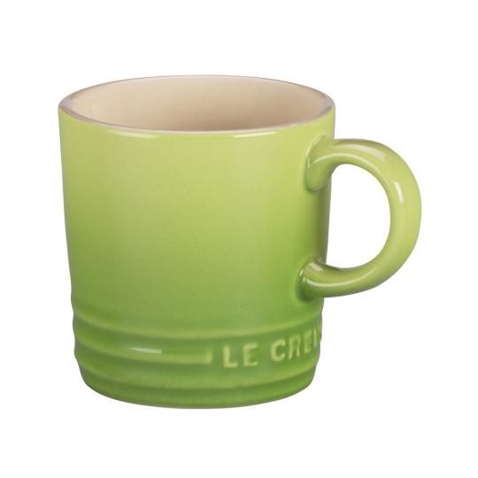 caneca cappuccino de cerâmica 200 ml verde palm le creuset