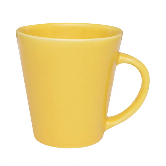 caneca drop amarela 250ml biona
