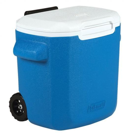 caixa térmica rodas azul 16 qt 15l  invicta