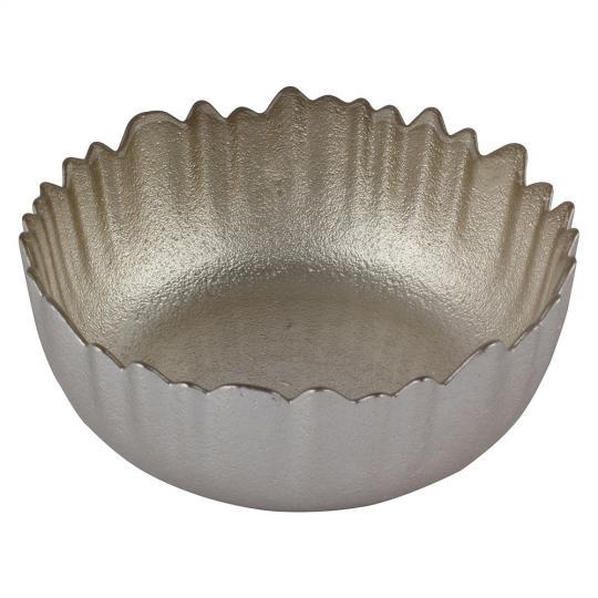 centro de mesa oriente na cor champanhe 15cm lhermitage