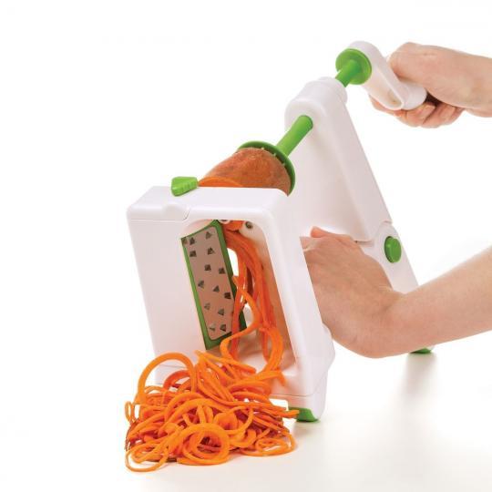 cortador e fatiador de legumes espirilizador bancada progressive