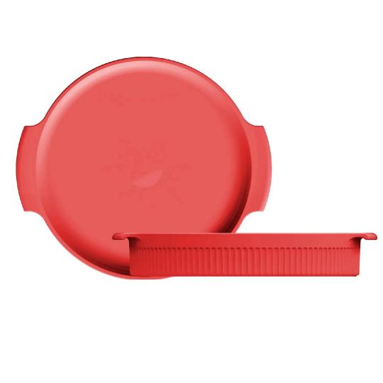 forma redonda vermelha 25cm germer