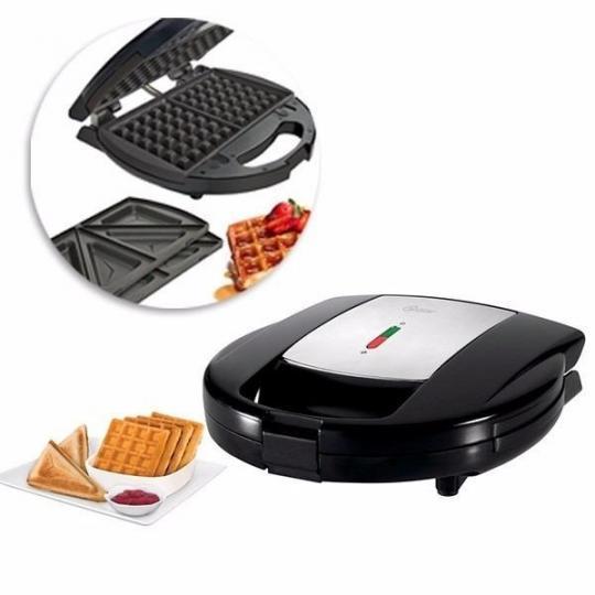 sanduicheira e maquina de waffles oster