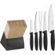 cepo facas plenus preto 6 peças  tramontina