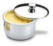 suporte para pote redondo de manteiga 250gr atina brinox